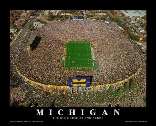 Michigan Stadium - University of Michigan, Ann Arbor
