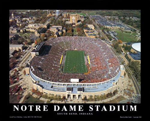 Notre Dame Stadium, South Bend, Indiana