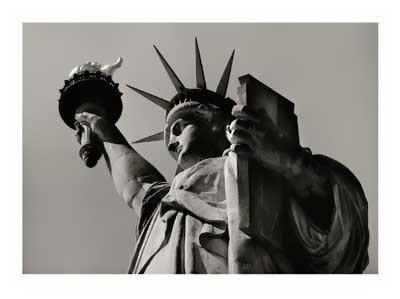 ART PRINT Statue of Liberty Paris 10 1//2x13 1//2 Yves Poinsot
