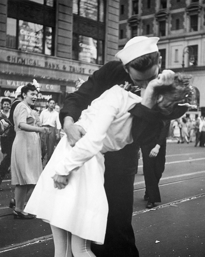 Kissing the War Goodbye, 1945