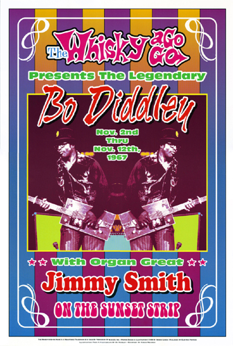 Bo Diddley, 1967: Whisky-A-Go-Go, Los Angeles