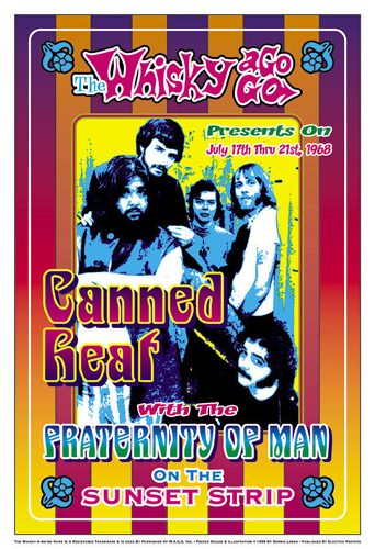 Canned Heat, 1968: Whisky-A-Go-Go, Los Angeles