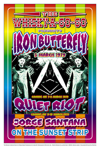 Iron Butterfly & Quiet Riot, 1979: Whisky-A-Go-Go, Los Angeles